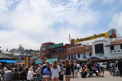 Il famoso porto di San Francisco