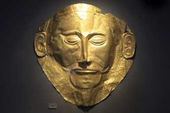 Maschera di Agamennone (Foto dal Web)
