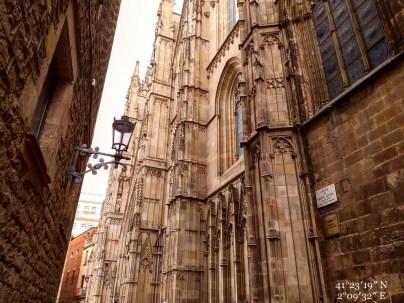 Scorcio della Cattedrale di Barcellona