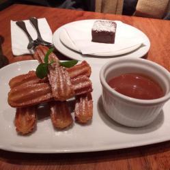Churros e cioccolato