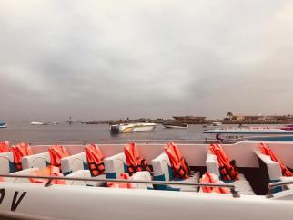 Imbarcazione per le Isole Ballestas