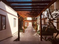 Scorci del Hotel Hacienda Bahia Paracas