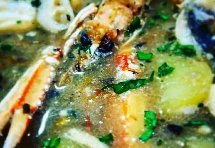 Receta de zarzuela de pescado y marisco