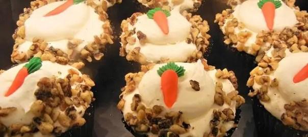 Cup cakes de zanahoria