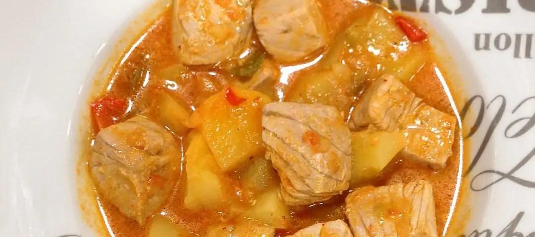 Receta de marmitako tradicional Vasco