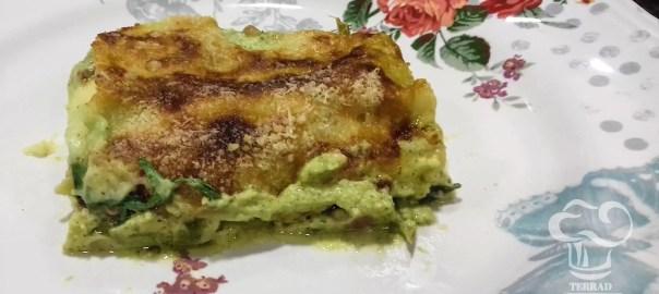Receta de lasaña de alcachofas