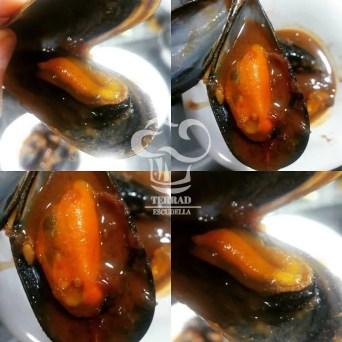 Receta de Mejillones en salsa marinera