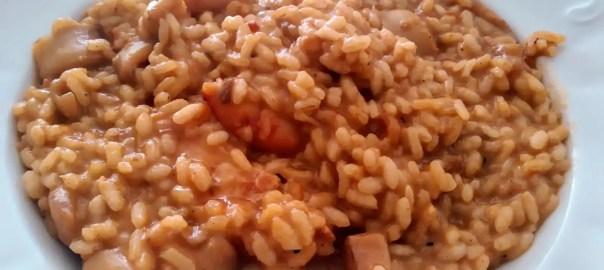 Receta de arroz cremoso