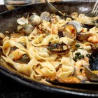 Receta de espaguettis marinera