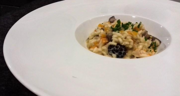 Receta de risotto de pato y mascarpone