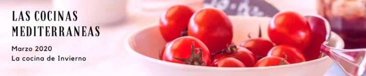 Matriculación cursos de cocina Mediterránea