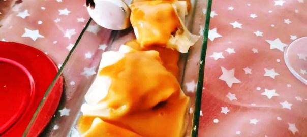 Receta de raviolis de marisco