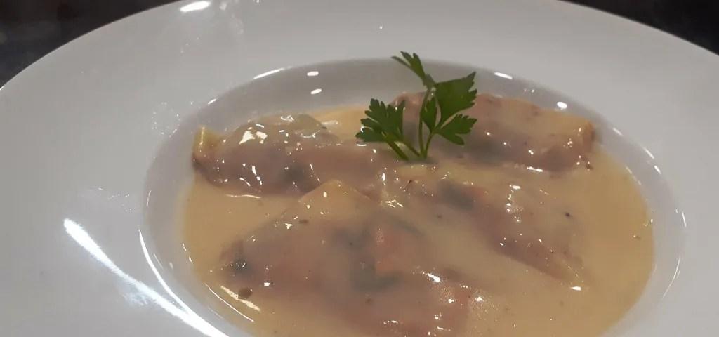 Receta de raviolis de pescado