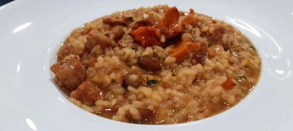 Receta de arroz caldoso de setas