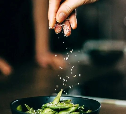 Cocinar las habas frescas