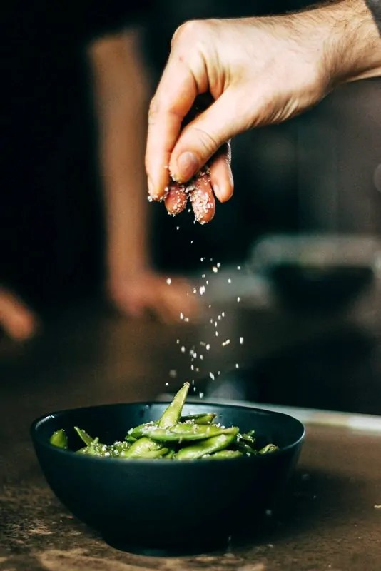 Cocinar habas frescas