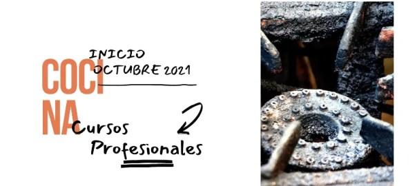 Cursos intensivos de cocina profesional octubre 2021