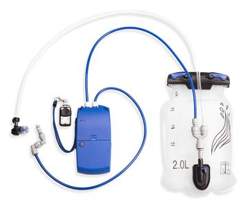 ExtremeMist PCS hydration bladder and blue pump technology