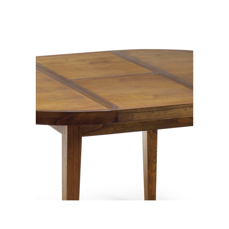 Mesa comedor redonda y extensible  Terraendins