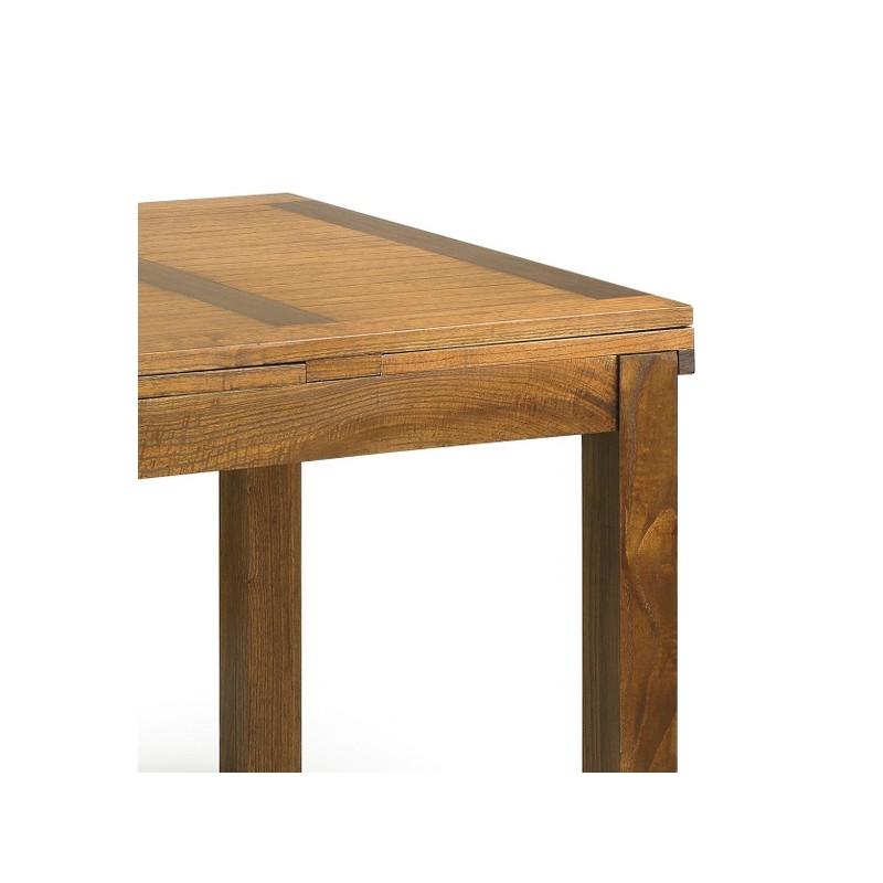 Mesa libro madera y extensible  Terraendins