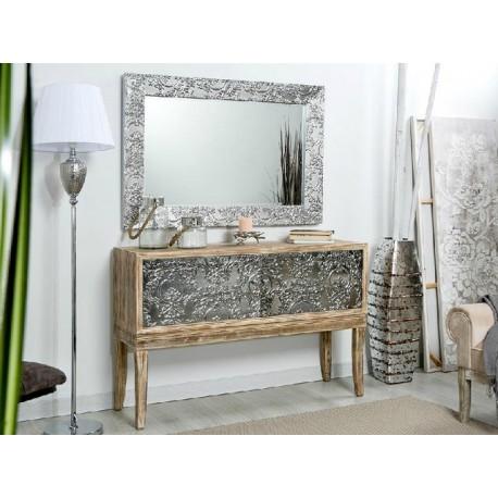 Mueble recibidor plata  Terraendins