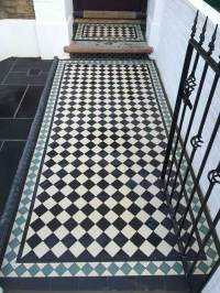 Blue And White Victorian Tiles - Tile Designs