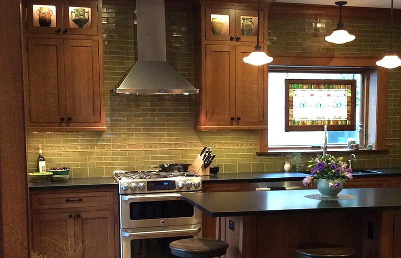 black and white tile kitchen hardware cabinets terra firma, ltd. handmade arts crafts ...