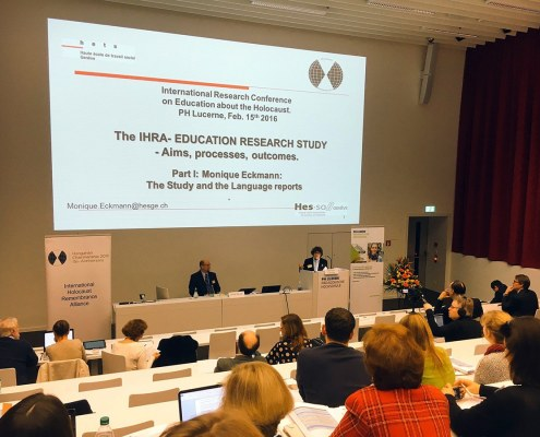 International Research Conference on Education about the Holocaust 2016-02-20/in Education, Event, News / Read more →  Search RECENT POSTS Workshop: Graphic Novel in Teaching and Learning about the Holocaust Training-Course: Education on the Roma Holocaust, Resistance and Remembrance International Research Conference on Education about the Holocaust