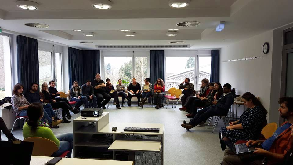 Education on the Roma Holocaust, Resistance and Remembrance (Photo: Jonathan Mack)