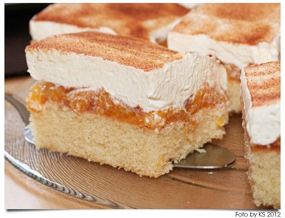 initiative sonntagssuess: Mandarinen-Schmand-Kuchen