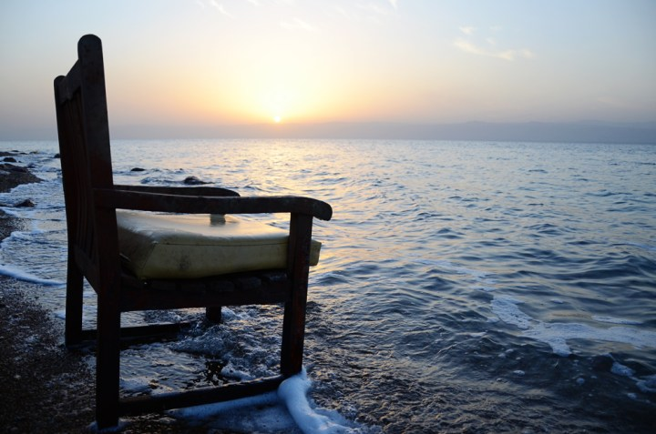What it is like to float in the Dead Sea
