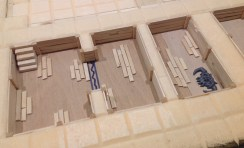 Detailing the dugouts
