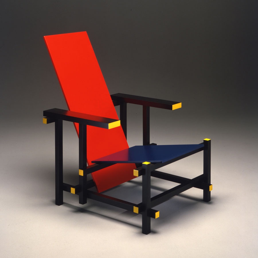 Gerrit Rietvelds Red and Blue Chair  What I Learned