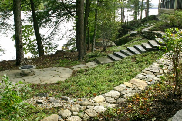 ideas lakefront landscaping