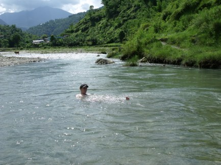 enjoy the cooling river