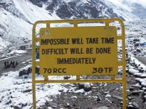 impossible will take time difficulty will be done immediately