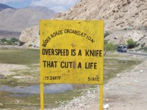 overspeed is a knife that cuts a life