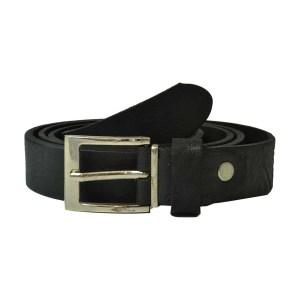 Cinturon Negro Fino