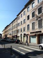 Quartier Saint Just, rue de la Favorite, Lyon