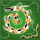 Serpent Mother (Australia) flag