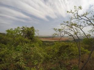 Vista da Fazenda Lavrinha e área de preservação permanente.