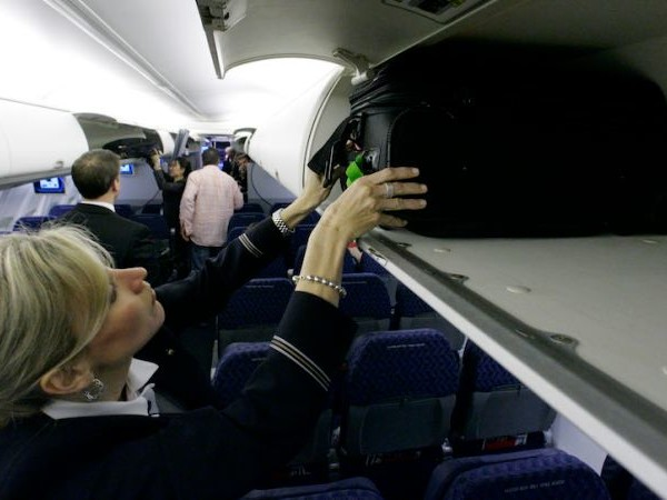 You Cannot Use the Overhead Bin on American, Delta or United Flights
