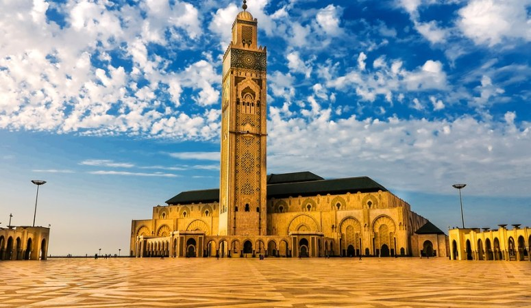 Hassan II Mosque Casablanca Affordable Morocco