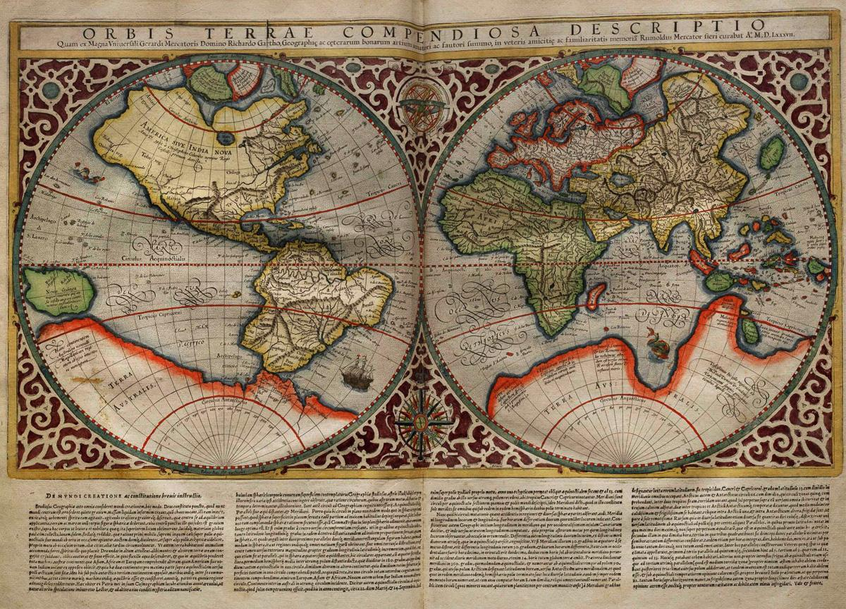 Maps of the Ancient Sea Kings a