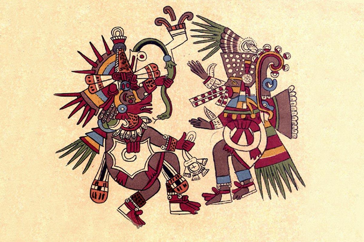 Quetzalcοatl -Tezcatlipoca
