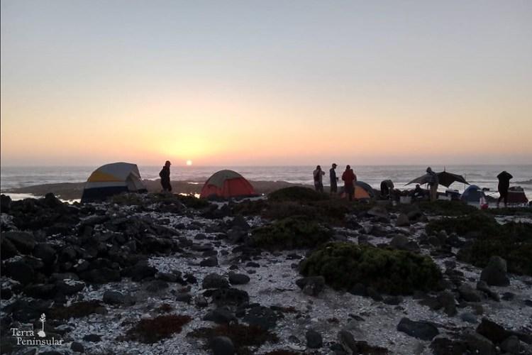 Acampar en Punta Mazo