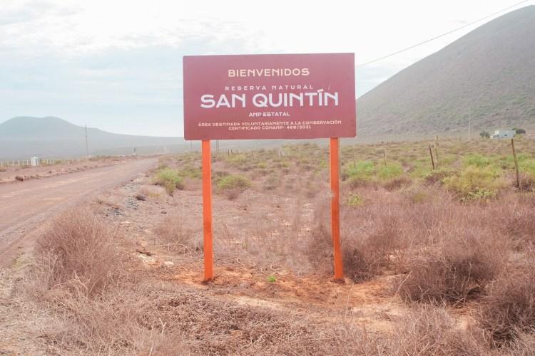 Reserva Natural San Quintín