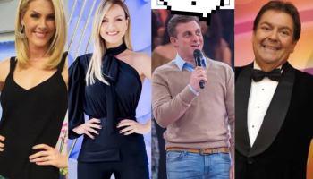 Ana Hickmann, Eliana, Luciano Huck e Faustão  Os apresentadores mais bem  pagos da 6095372a28