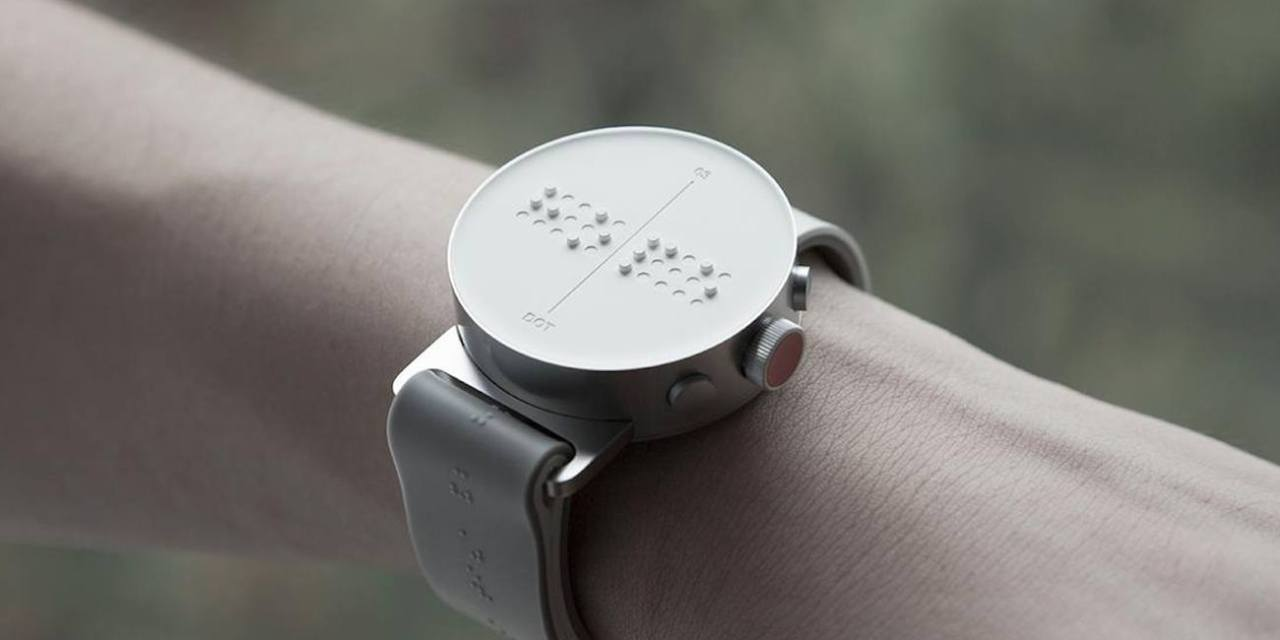 Dot Watch, l'indossabile per non vedenti