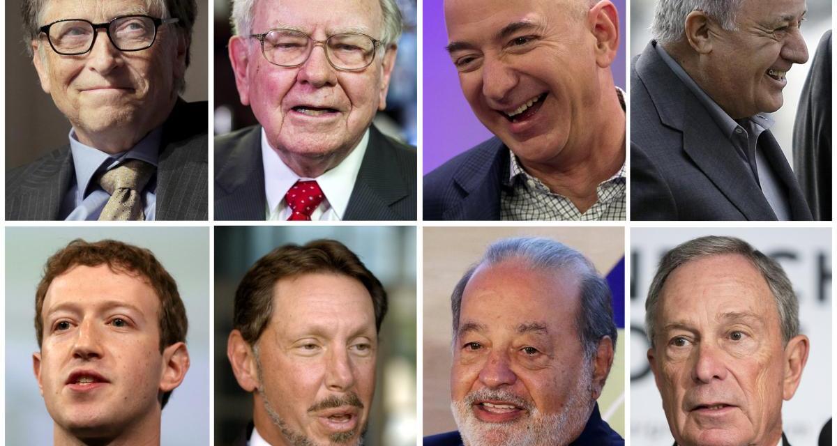 Forbes 2017, i cento uomini più ricchi del mondo
